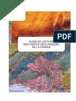 Guide de Lecture de La Carte Geologique a 1 50 000