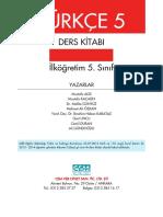 Türkçe 5 Ders Kitabı_Cem Veb Ofset