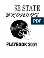 2001 Boise State Offense