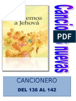 Cancionero Nuevos 136-142 y Portada