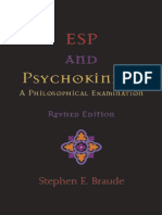 Esp and Psychokinesis a Philosophical Examination