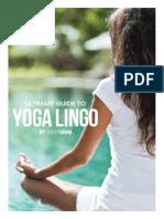 Yoga Lingo