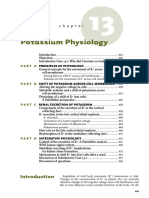 13 Potassium Physiology