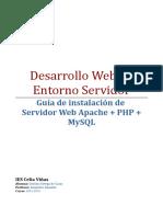Guía de Instalación Apache PHP MySQL