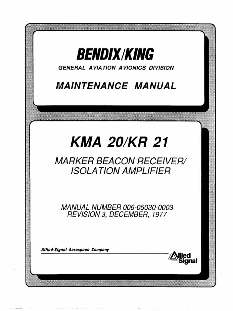 Kma 20 Mant  Manual
