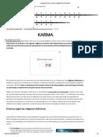 Concepto de Karma