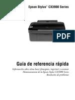 Cx39 Qr6 Manual Impresora