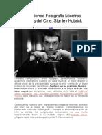 Aprendiendo Fotografía Mientras Disfrutas Del Cine Stanley Kubrick