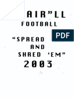 2003 Shotgun Spread Offense