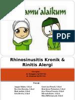 Rhinosinusitis-kronik- Rinitis Alergi Ppt