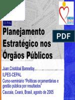 Planejamento Estrategico Nos Orgaos Publicos