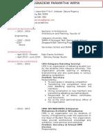 CV Paramitha