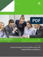 Strategic Sourcing Supply Market Intelligence 0514 1