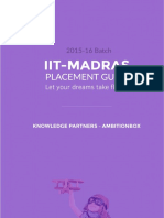 IIT-M Placement Guide 2015-16
