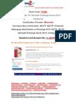 [Braindump2go] Latest 70-662 Exam Questions Free Download 11-20