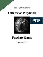 2005 Auburn Spring Passing Game