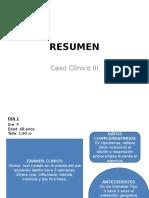 Caso Clinico III.