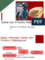 Hukum Dan Pranata Pembangunan -1