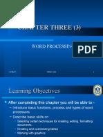 Stid1103 Ch3 Word Processing