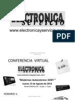 Modernos Autoestereos Sonyl_conferencia Virtual_agosto 2013_final_material Trabajo