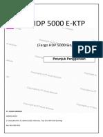 Juknis Penggunaan Maintenance Hdp5000 E-ktp Versi 3
