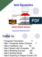 2012 Sistem Dinamik Bab 03 Model Lebih Kompleks