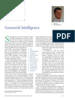 Geosocial Intelligence