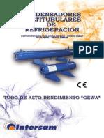 Condensadores Multitubulares