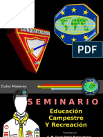 Seminario Educacion Campestre y Recreación