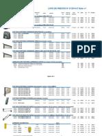 2 - Lista de Precios Seg 01 2014-2º Dólar