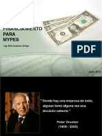 Financiamiento Para Mypes