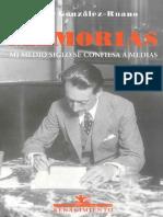 Gonzalez Ruano Cesar - Memorias Mi Medio Siglo Se Confiesa a Medias