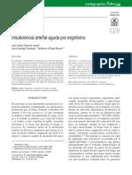 Ergotismo asociado a interacción entre ergotamina y eritromicina