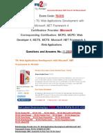 [100% PASS]Braindump2go Latest 70-515 VCE Free 11-20