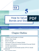 08 Valuation of Stocks and Bonds