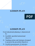 lesson plan st notes