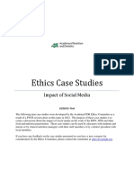 Social Media Ethics Case Study