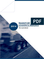 Transport and Logistics Insights January 2014