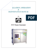 Users' Manual TUF Ozone Generator
