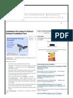 Installation Procedures & Guidelines