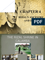 Rizal Ancestry and Birth