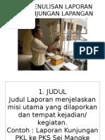 Laporan PKL Losses