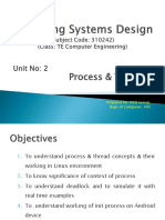 Unit 2 - Process & Threads