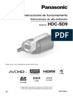 Panasonic Hdc Sd9