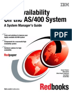 High Availability on AS400 System