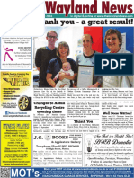 The Wayland News January 2016