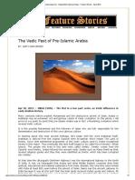 Vedic Past of Arab