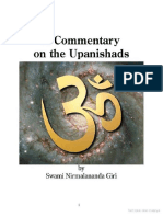 A Commentary on the Upanishads