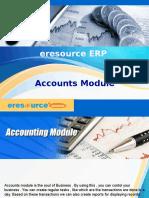 eresource Xcel ERP   ERP For Manufaturing Indusrty   Accounts Module