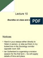 Lecture 10 Bourdieu.ppt